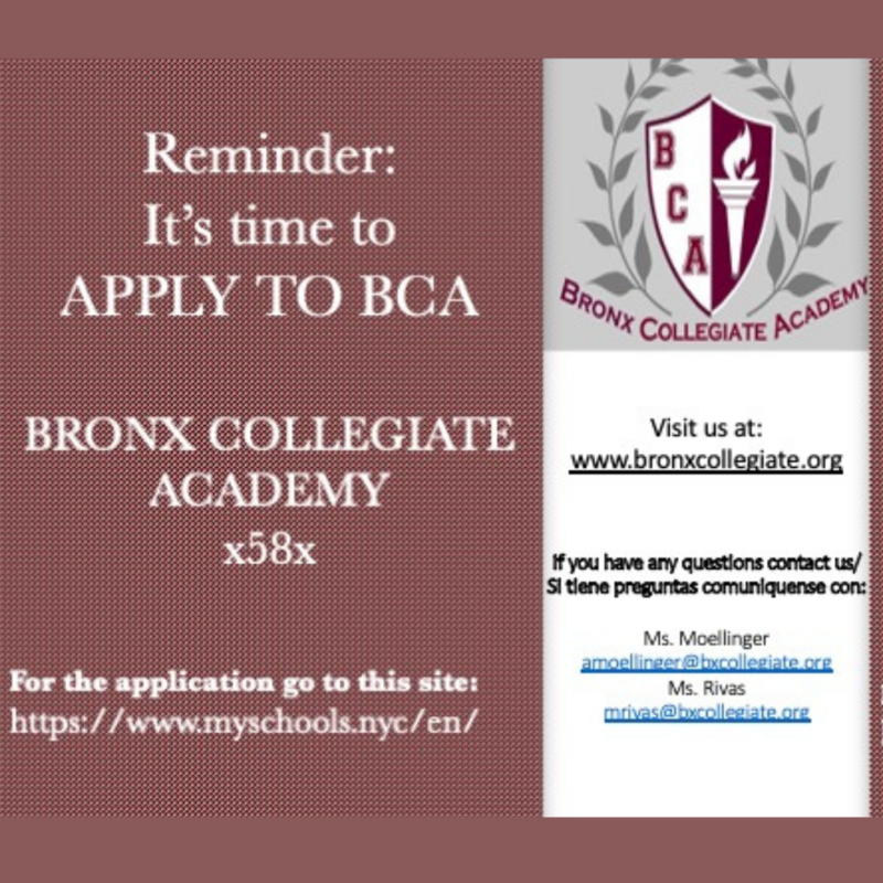 BCA Admissions Featured Photo
