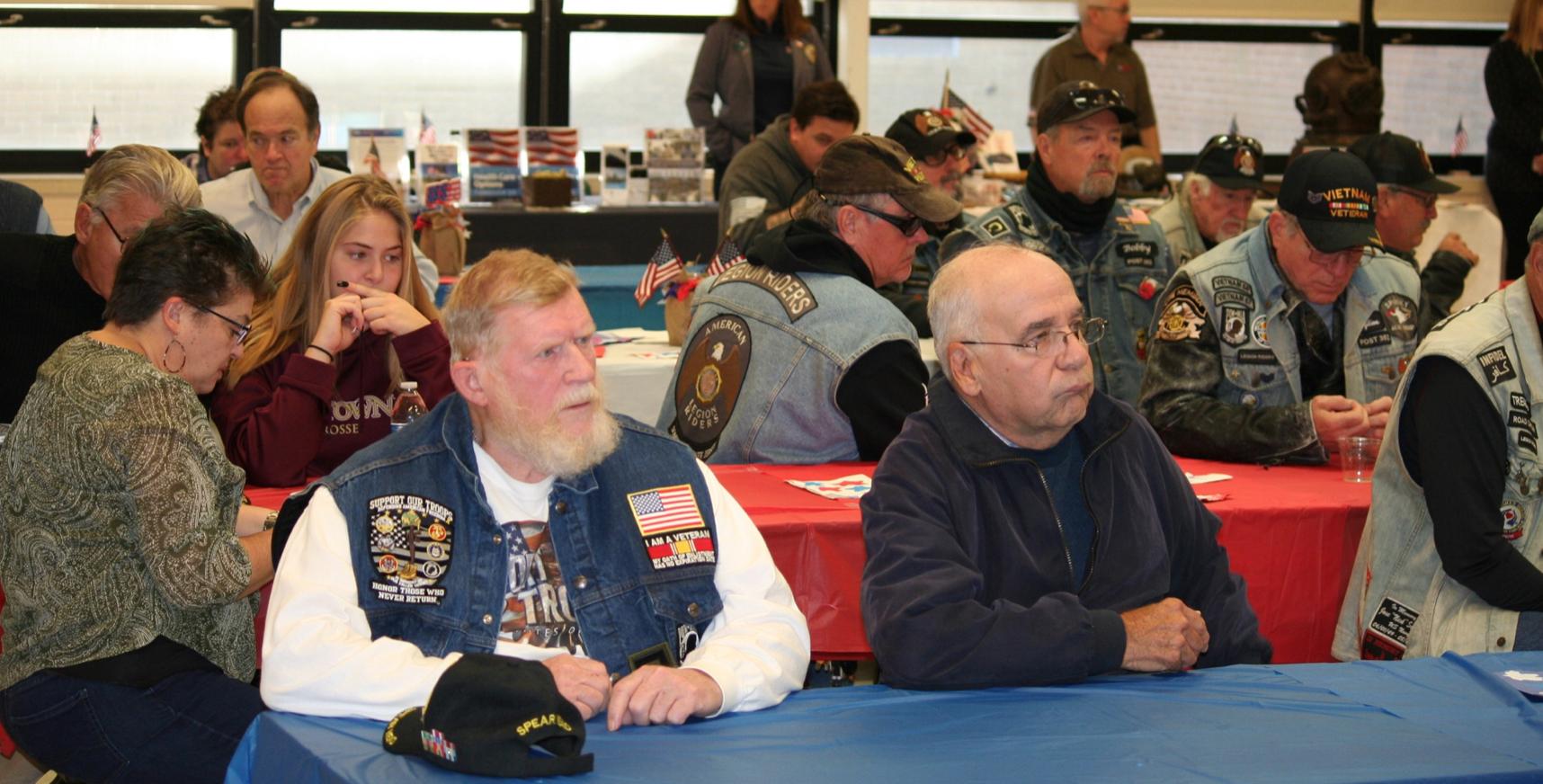 Veterans gather for breakfast