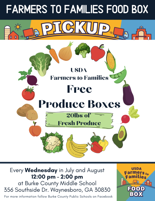 Free Produce Boxes Flyer