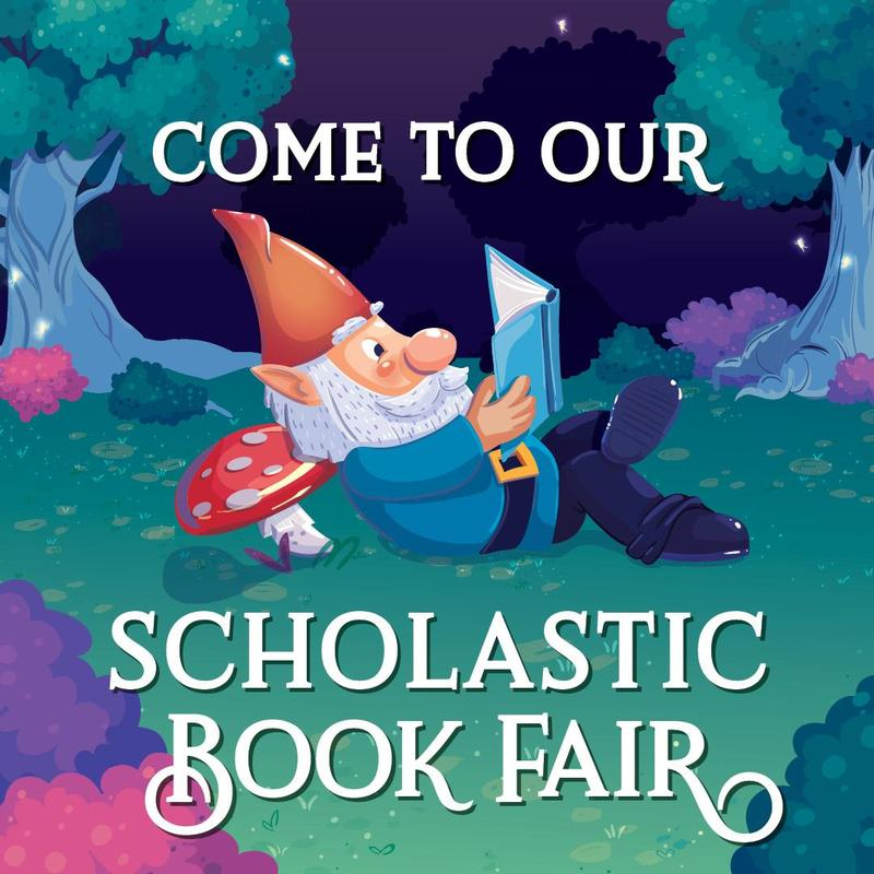 scholastic book fair Gnome