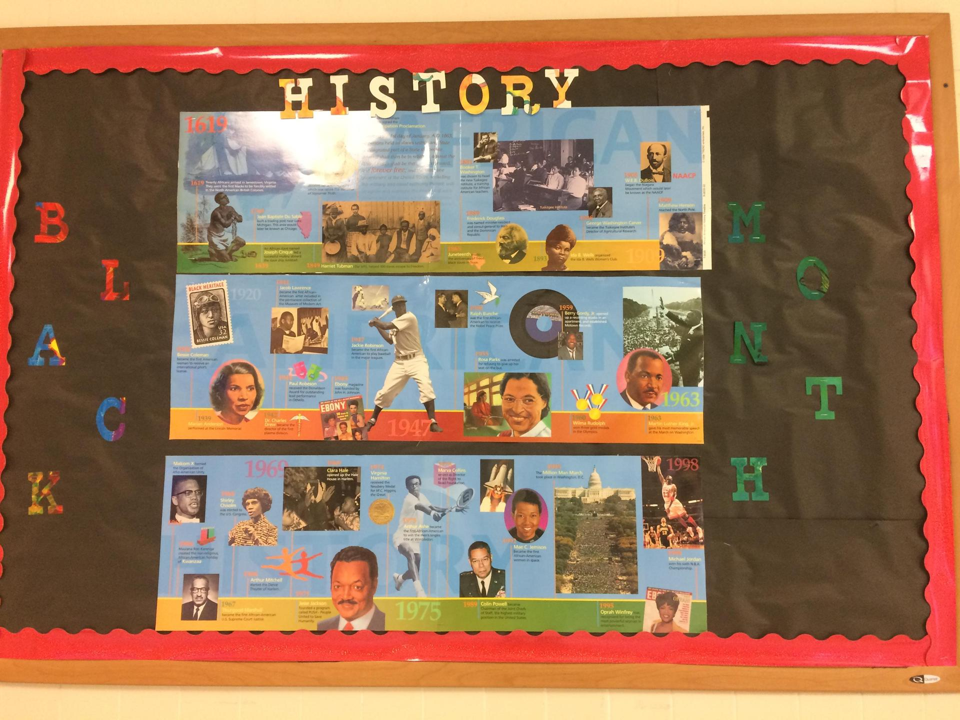 Black History Display