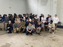 8th grade visit to JROTC
