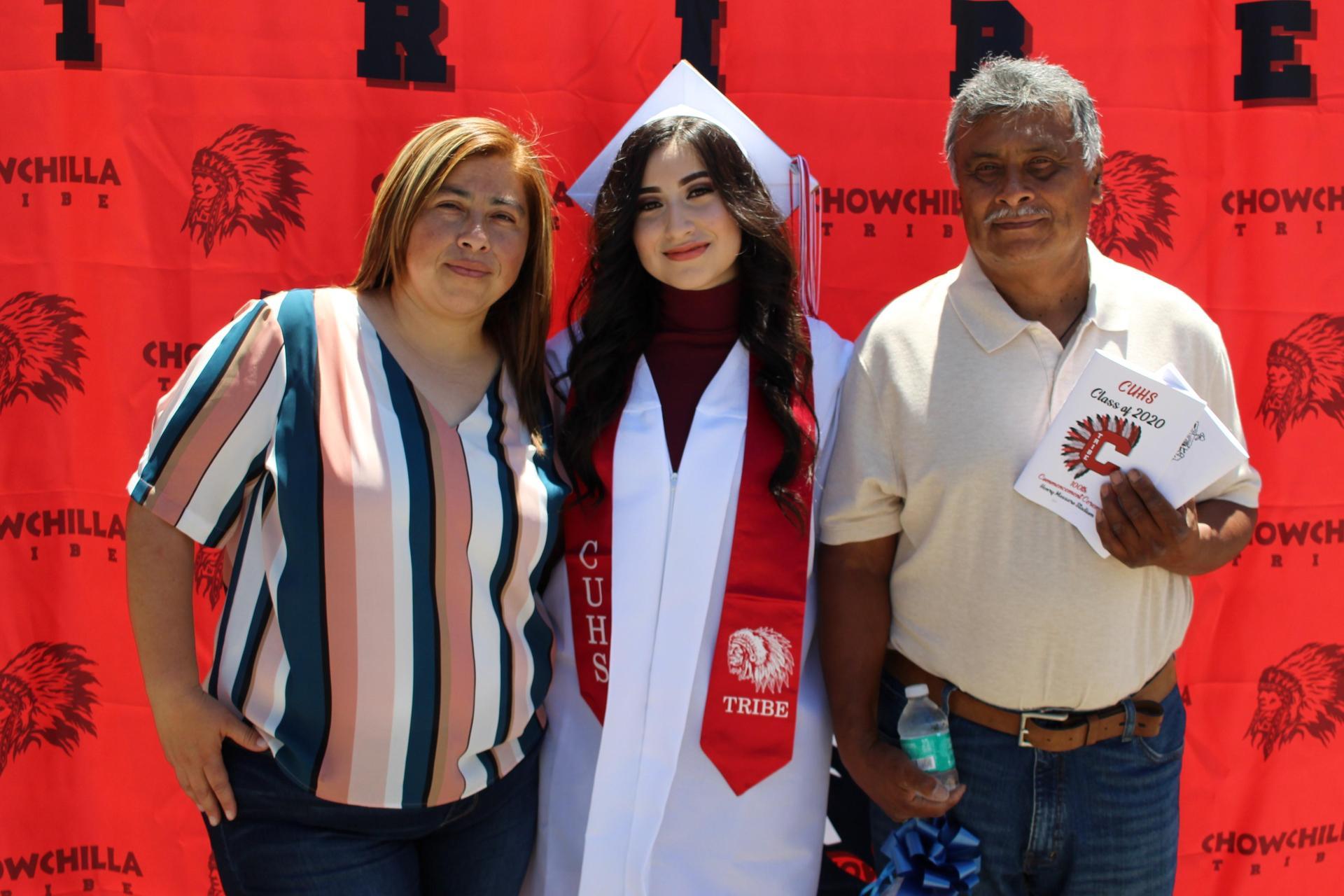 Azucena Vazquez and family