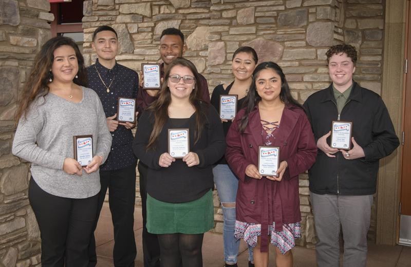 Photo of the January 2019 Students of the Month