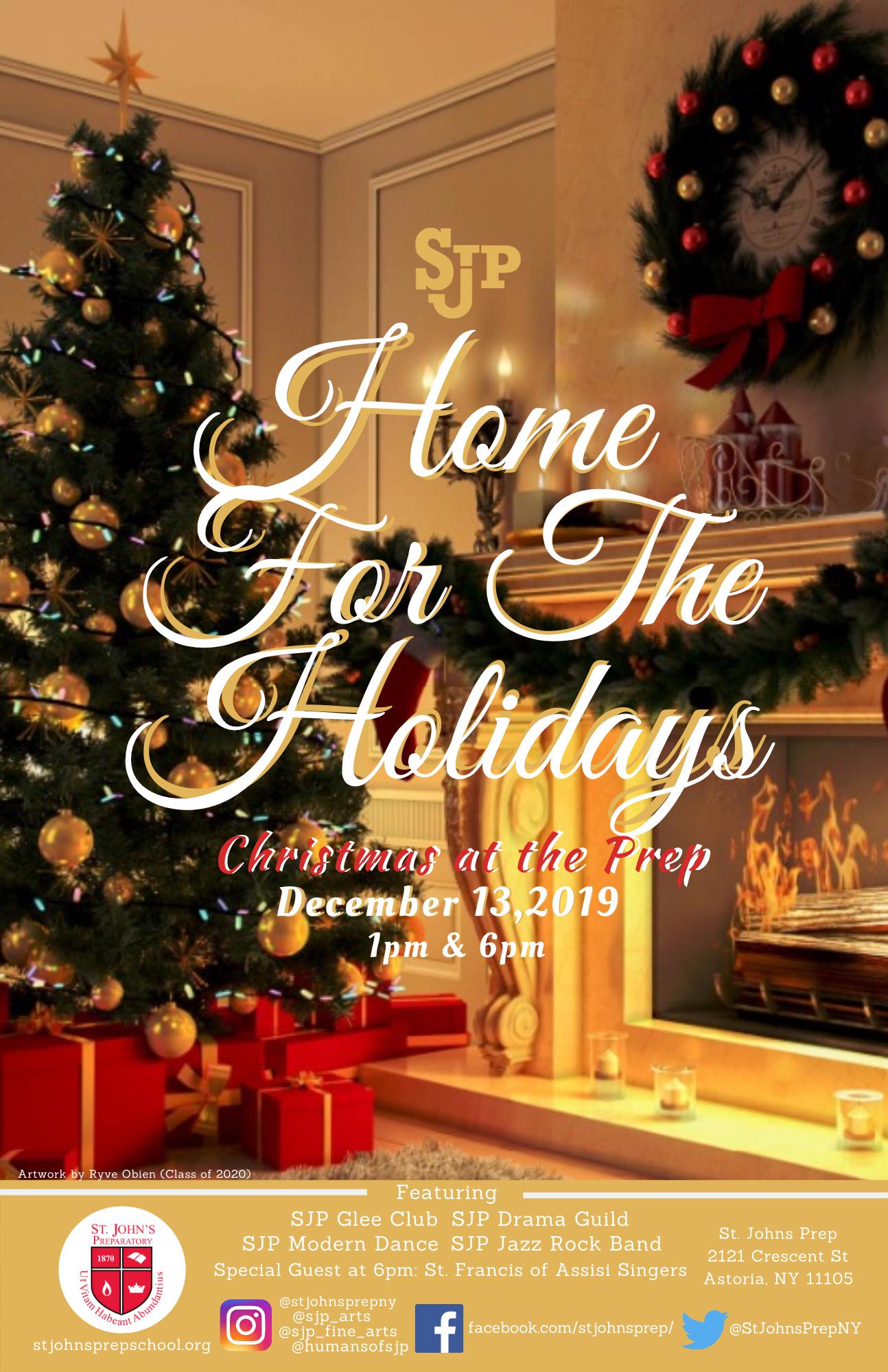 Christmas Queens 2020 Show St. John's Prep in Astoria, Queens, New York
