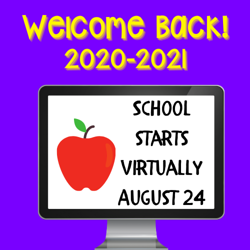 Welcome to the 2020-2021 School Year! Image