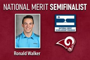 National Merit Semifinalist Ronald Walker