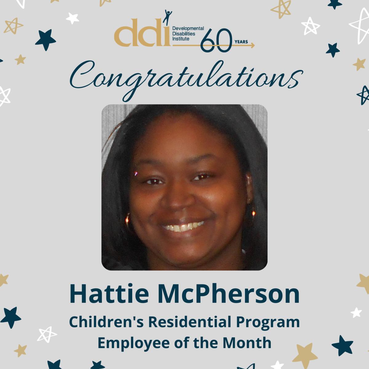 Hattie McPherson EOM
