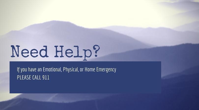 Need Help? Call 911