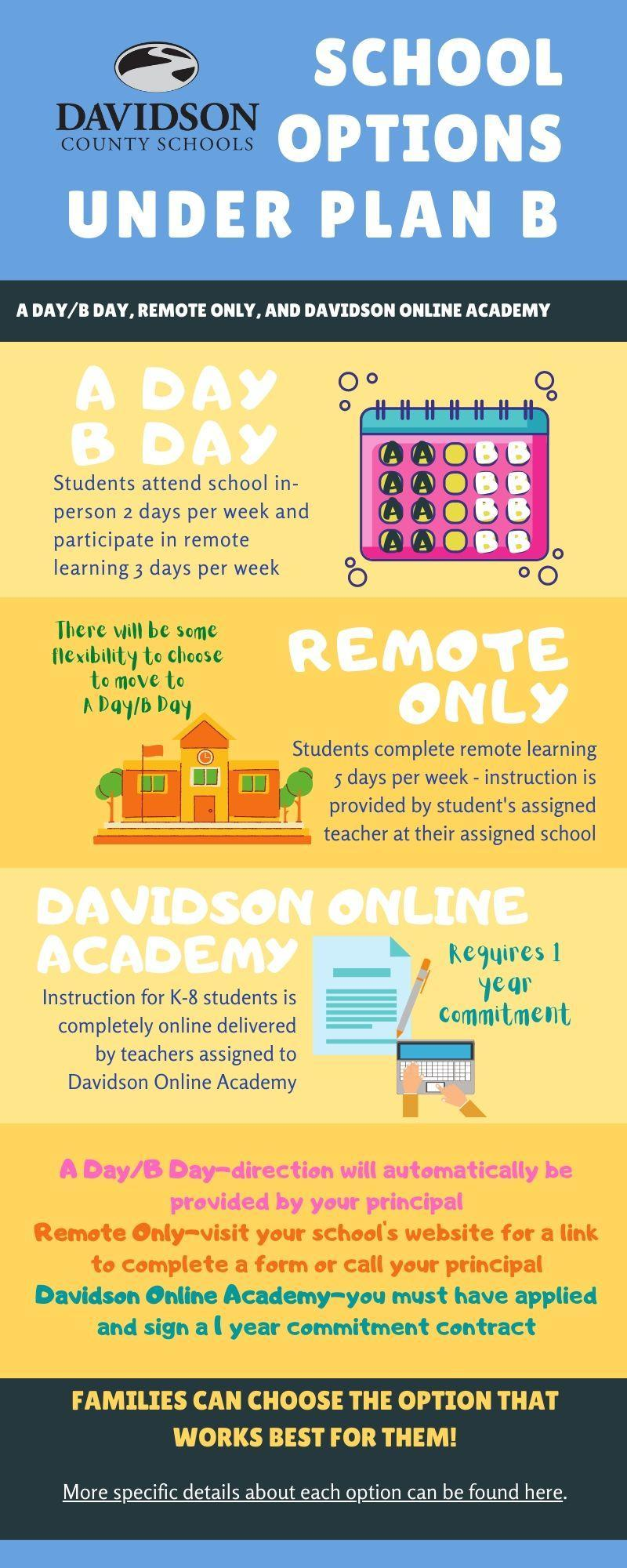 School Options for Plan B