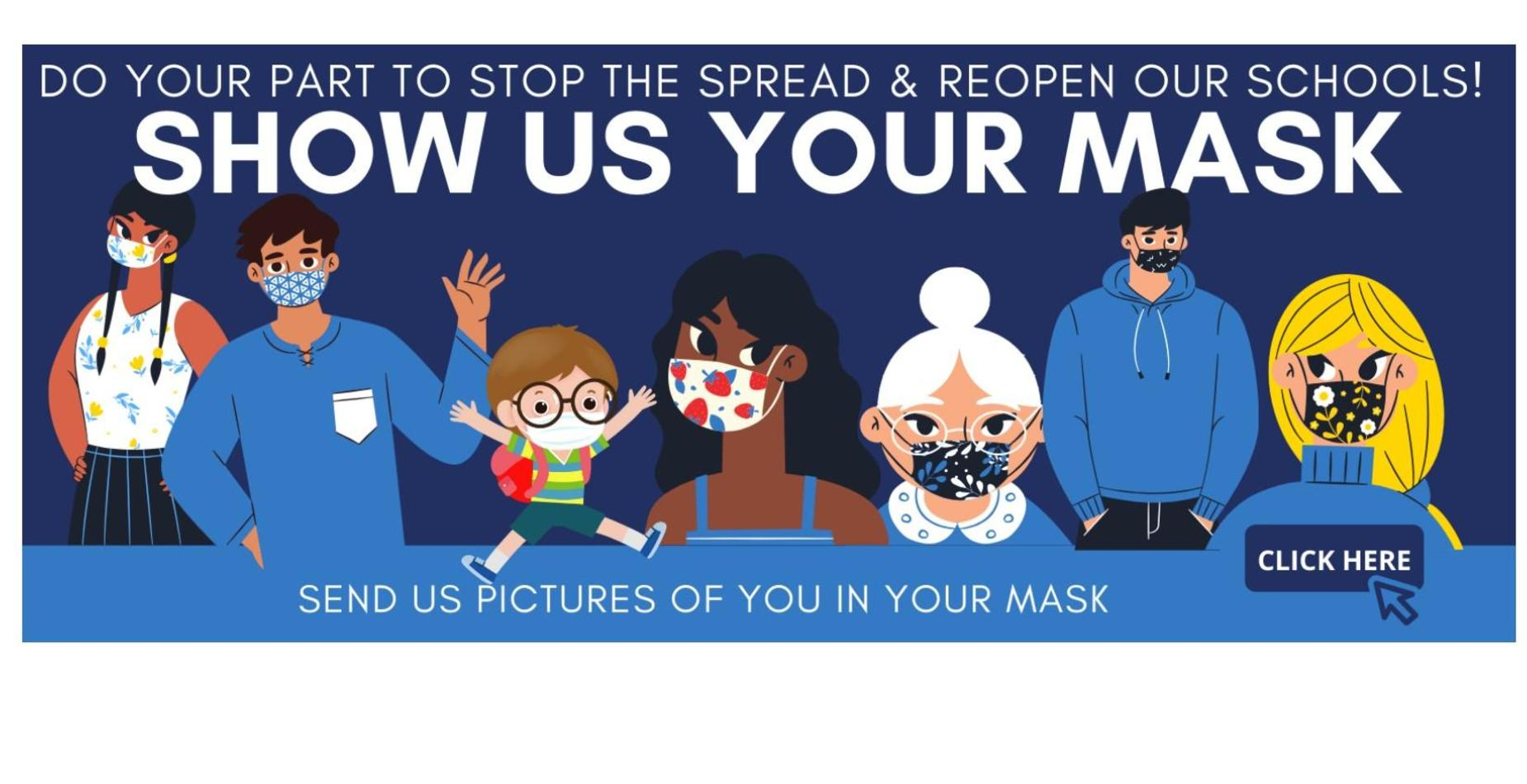 Picture about mask wearing