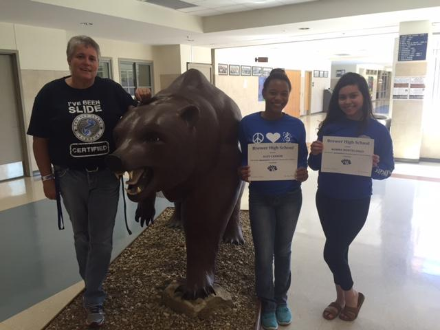 Sophmores: Alex Cannon and Norma Montelongo were recognized by BHS Faculty/Staff for BEAR Integrity for the first six weeks. GRIT!!