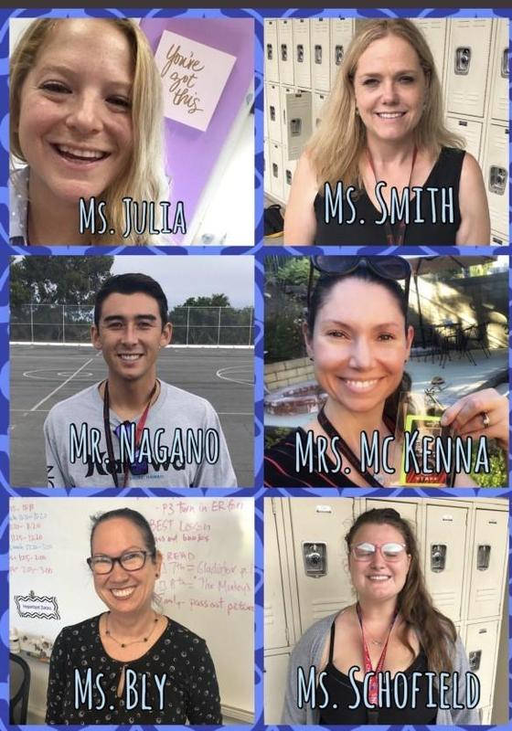 Welcome our New Staff