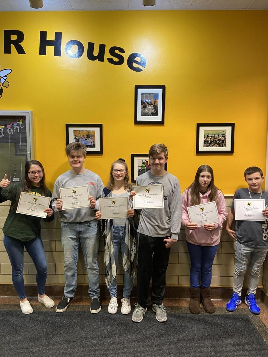 FASD Jr./Sr. HS January 2020 Student of the Month