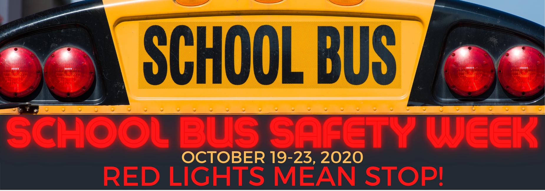 bus safety week