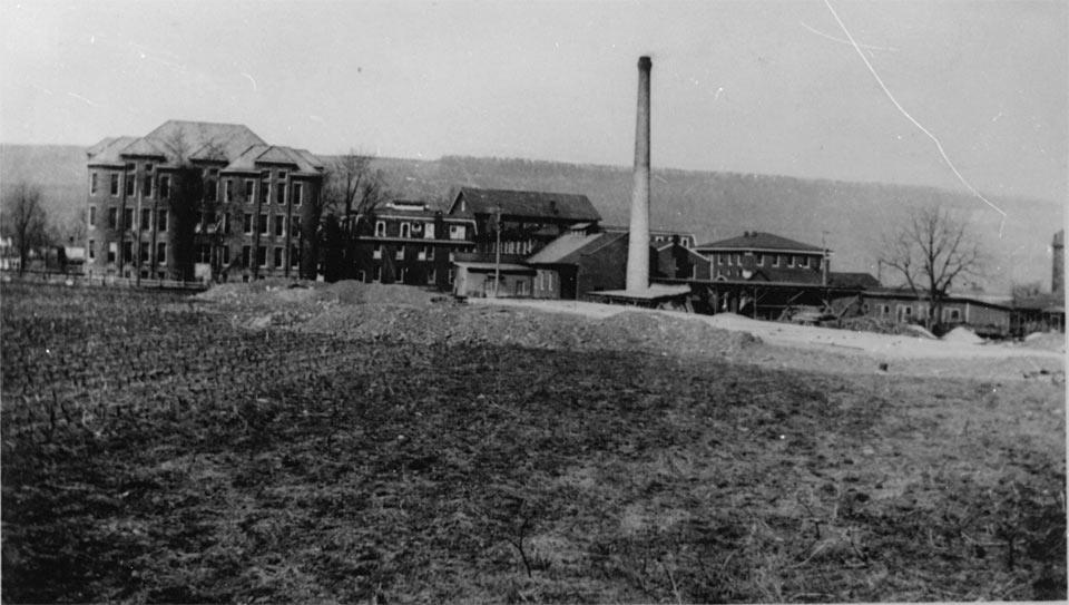 WVSDB Campus in the early 1900s