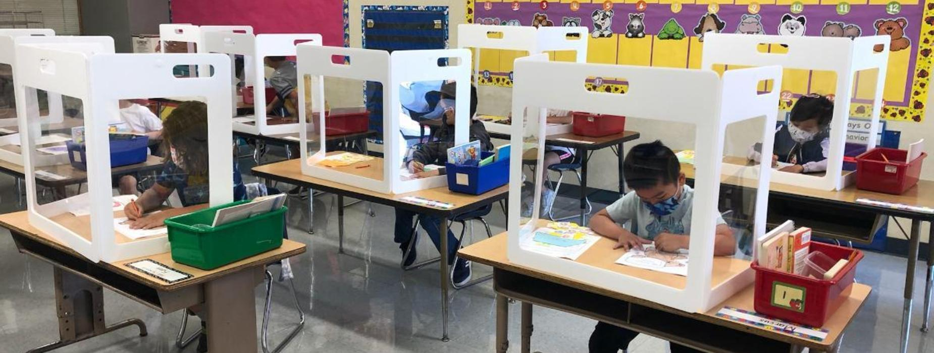Emery Park students back for in-person learning