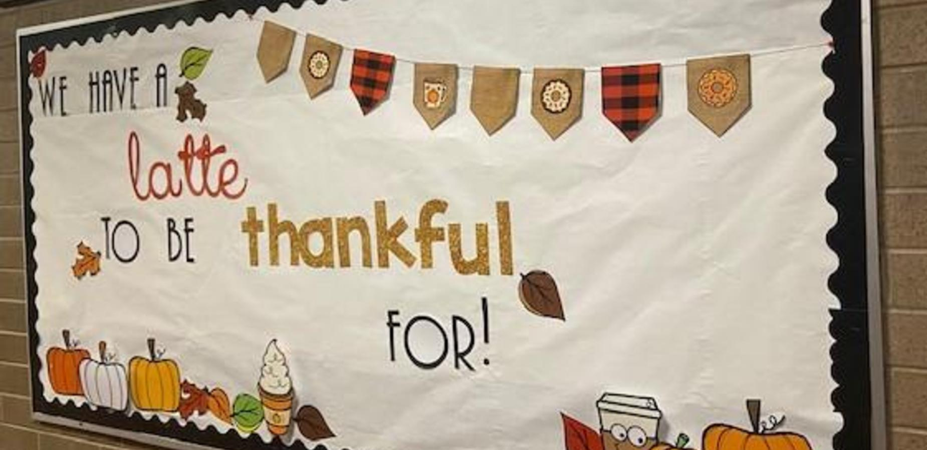 We have A Latte to be Thankful for!