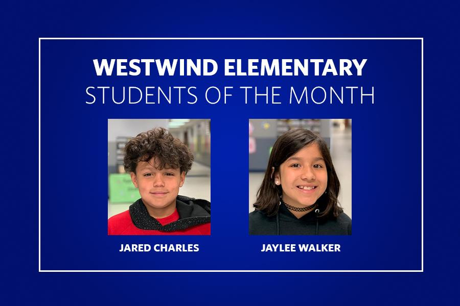 Westwind Students of the Month
