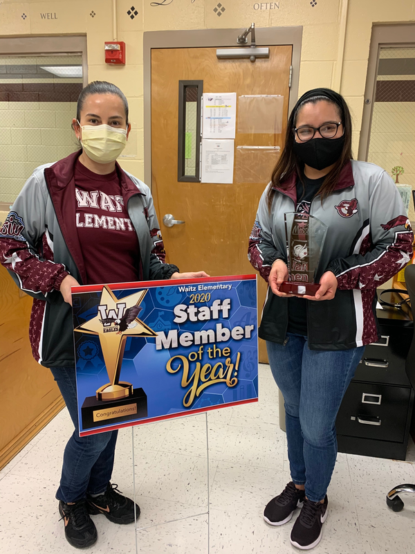 Laura Alonzo - 2019-2020 Staff Member of the Year