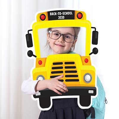 student in bus