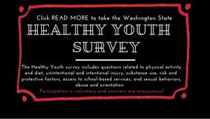 Click here to take the Healthy Youth survey for the State of Washington.