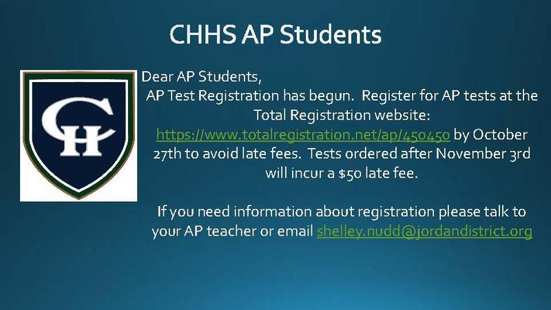 AP Registration