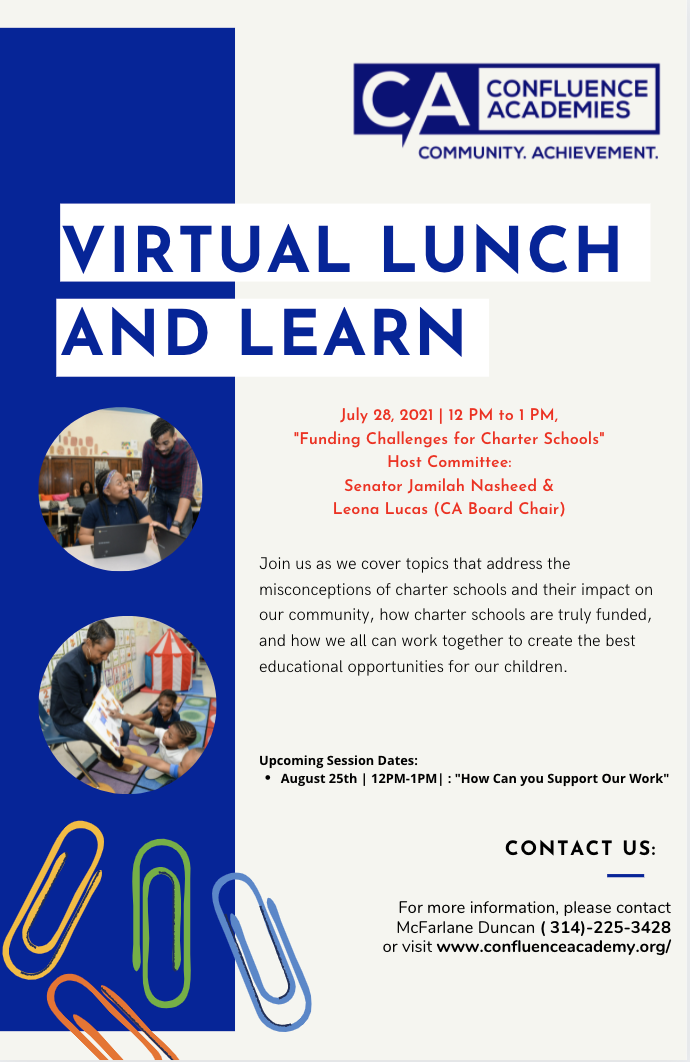 Virtual Lunch and learn Confluence