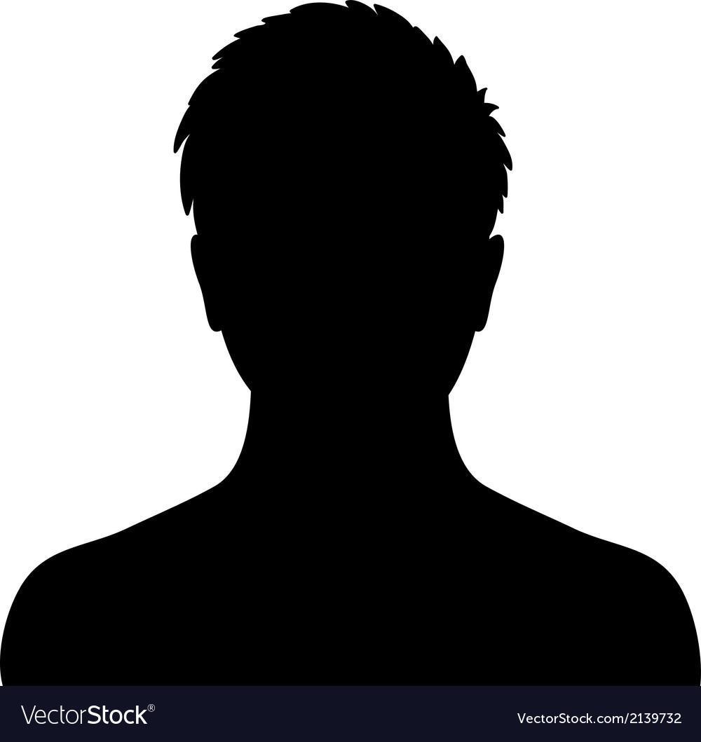 Silouette of male