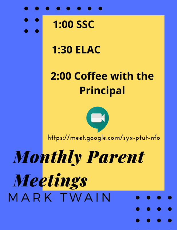 Monthly Parent Meetings Featured Photo