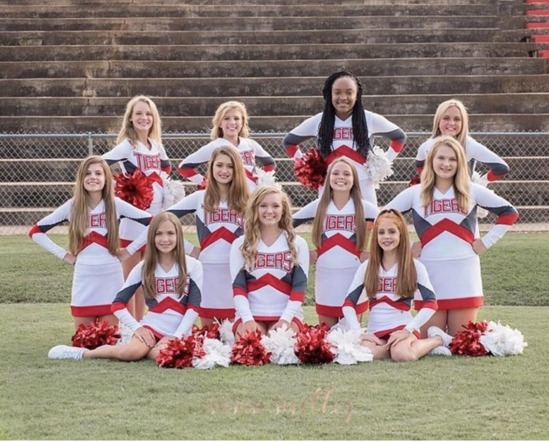 WBMS Cheerleaders 2018-19