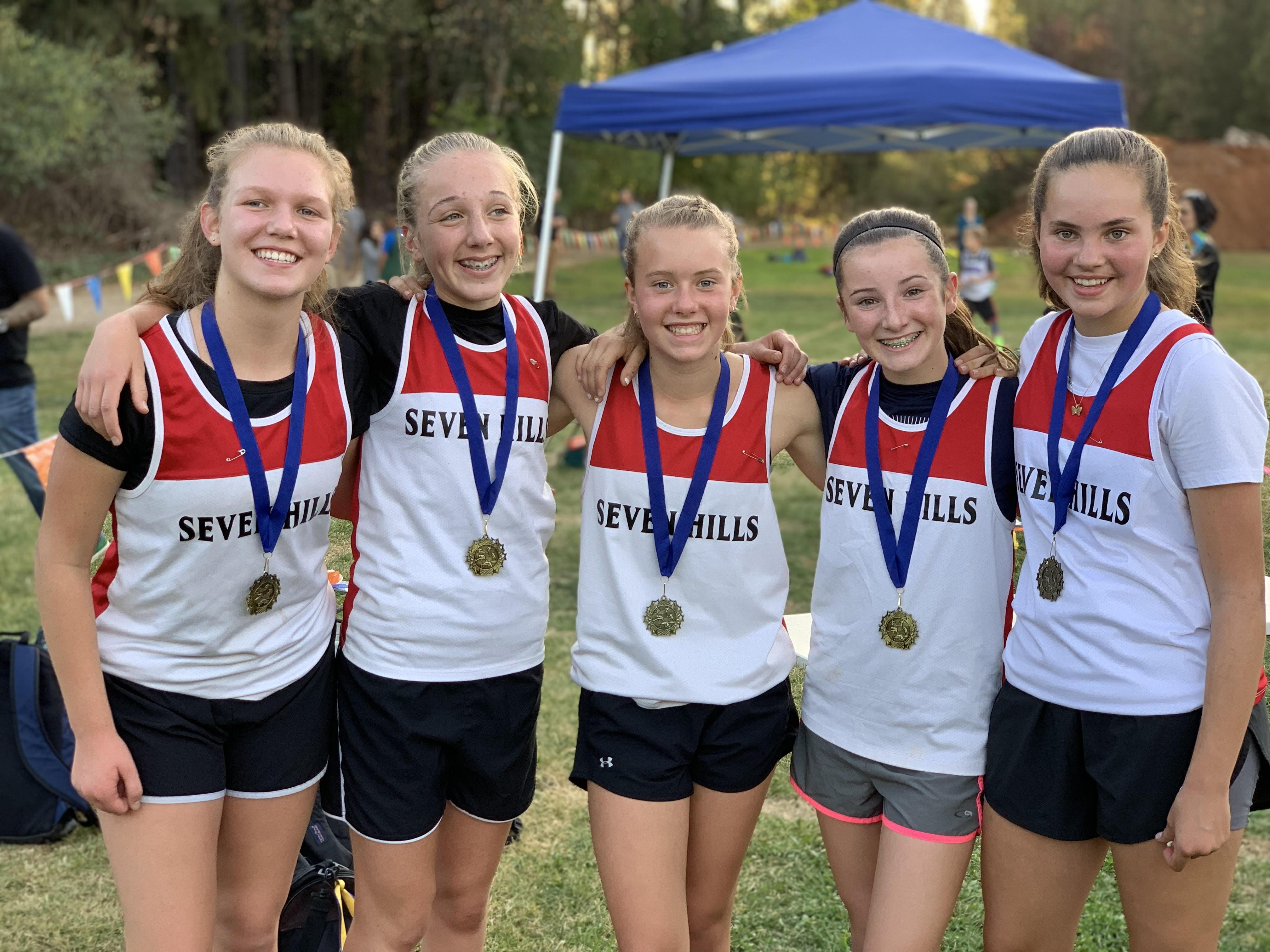 Seven Hills Cross Country Girls Team