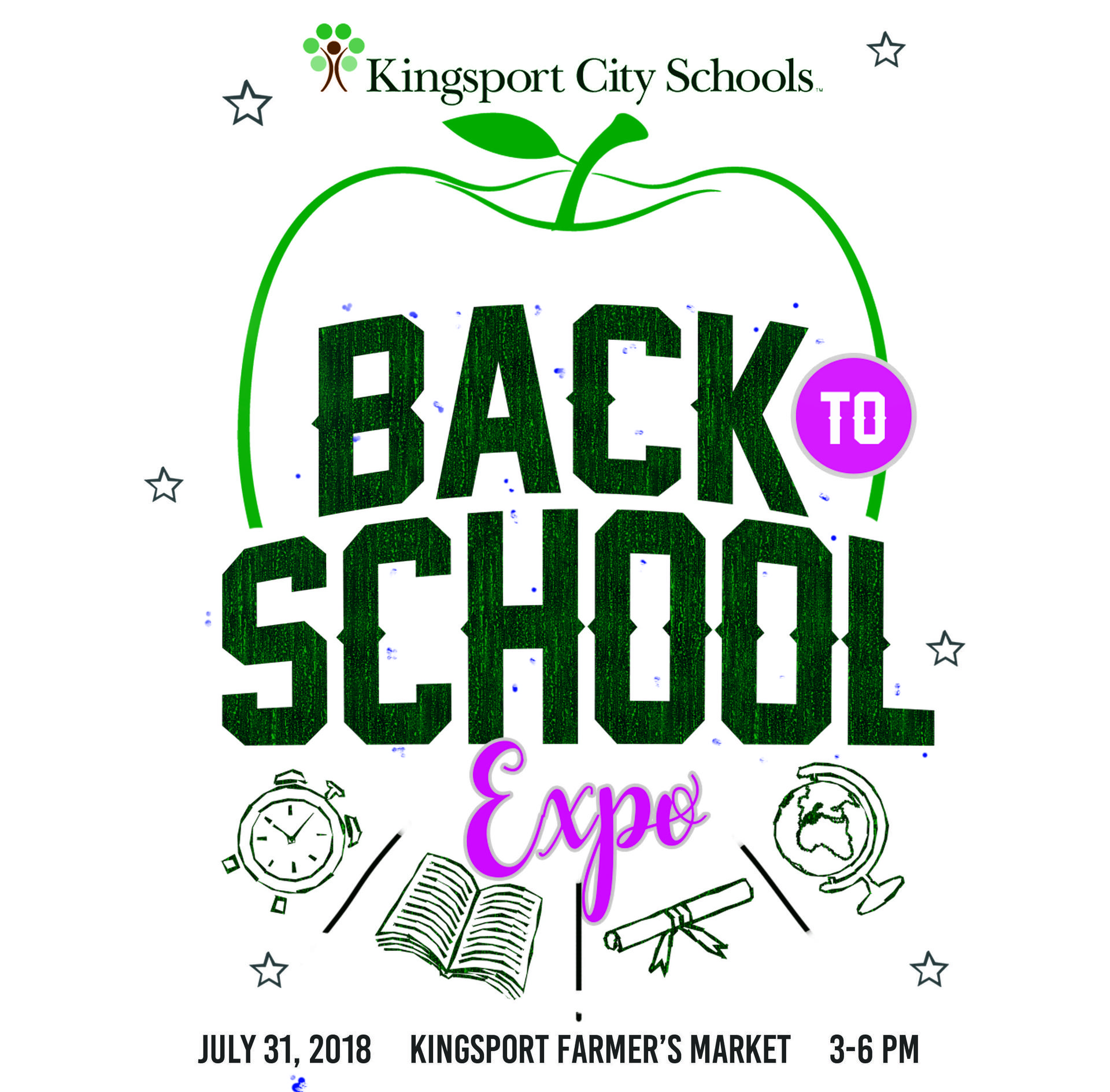 Back to School Expo logo
