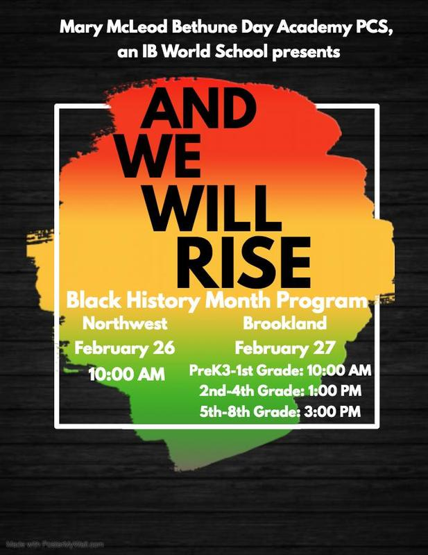 And We Will Rise...Black History Month Program 2020 Featured Photo