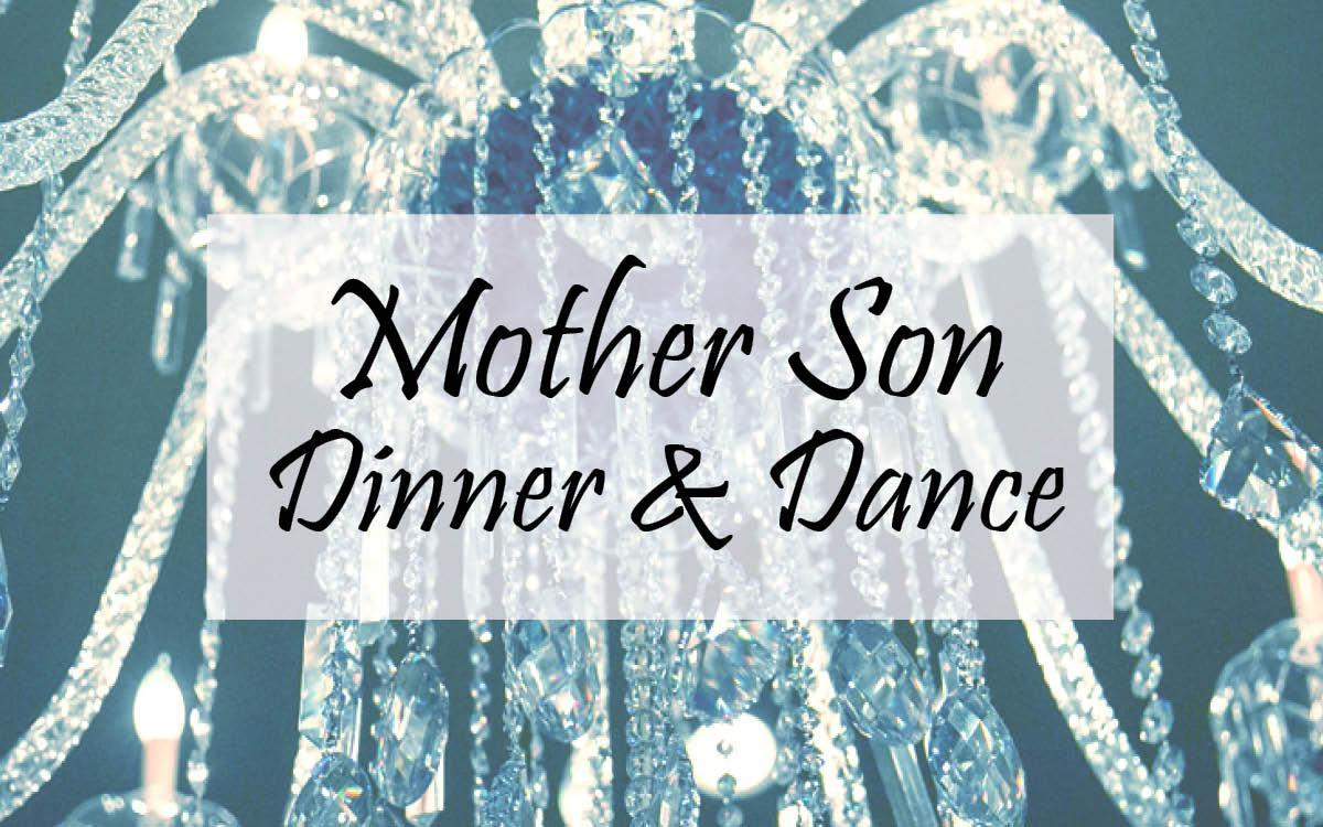 mother son banner
