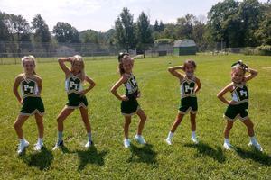 PT Midget cheerleaders