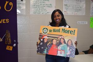 Four Denman Junior Employees receives randon acts of kindness photos.