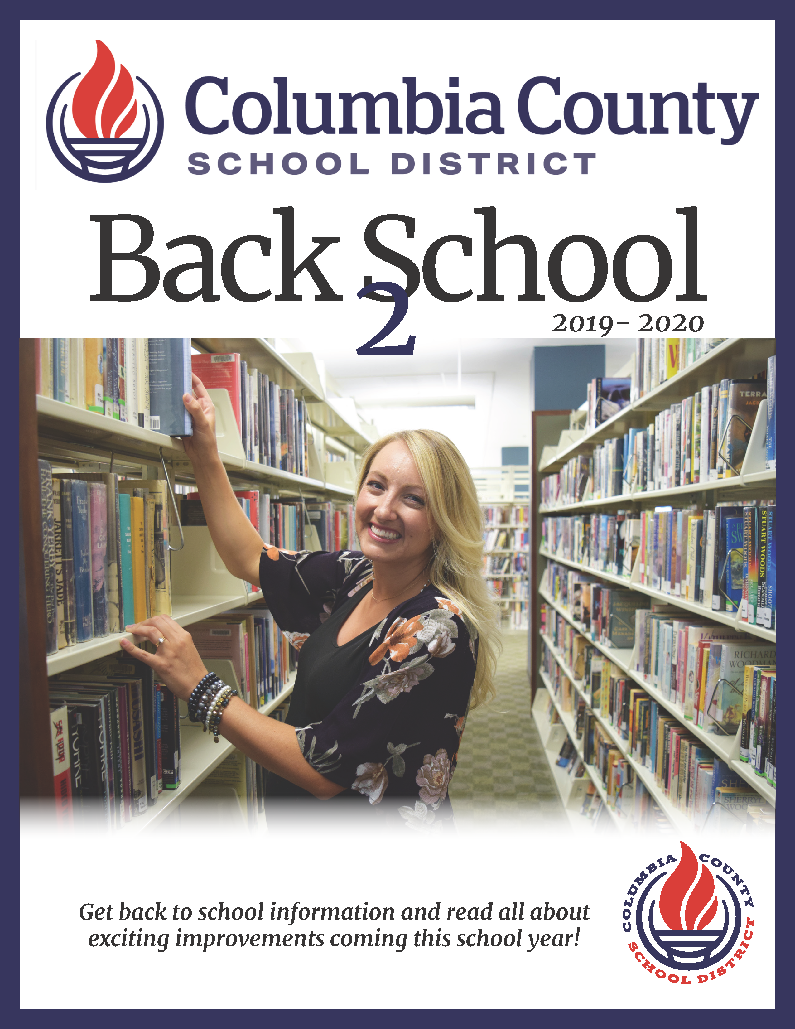 Back 2 school magazine cover