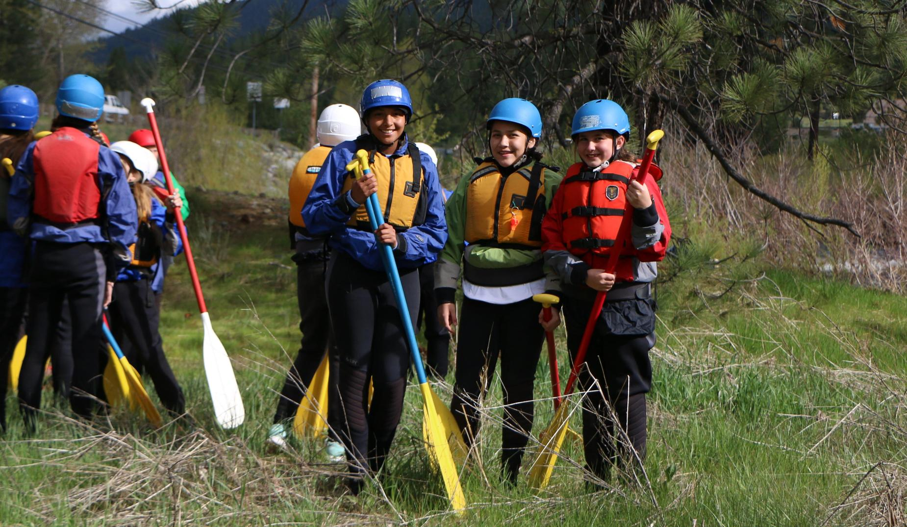 CRC safety gear for rafting