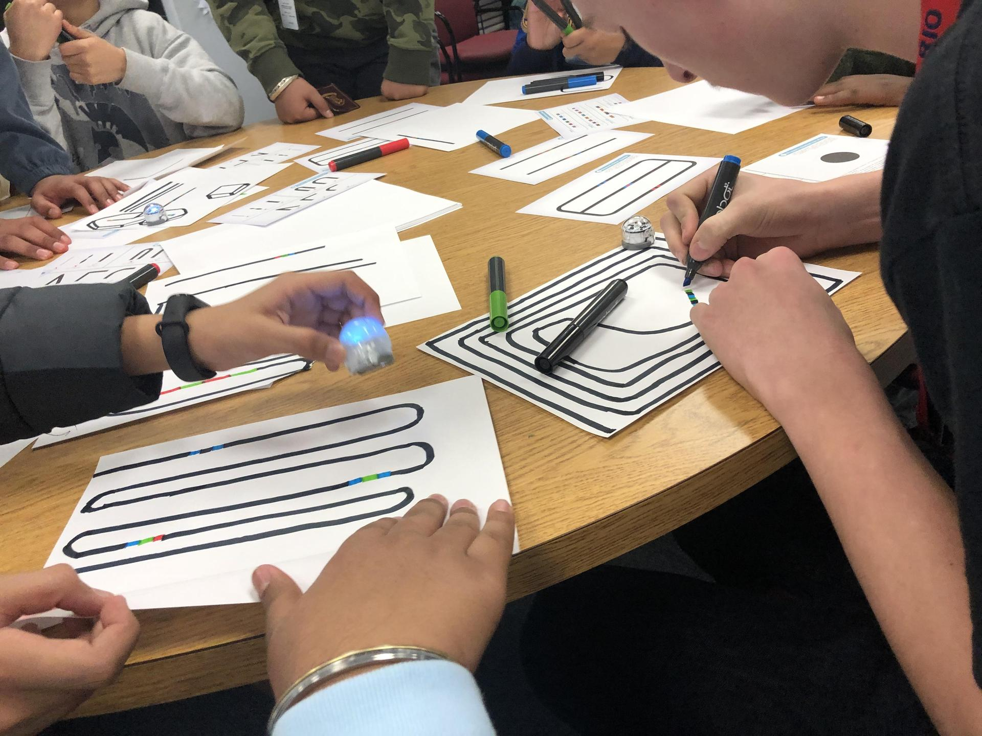 Ozobots in the MakerLab