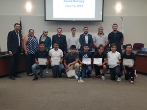 FMSD School Board Honors Soccer