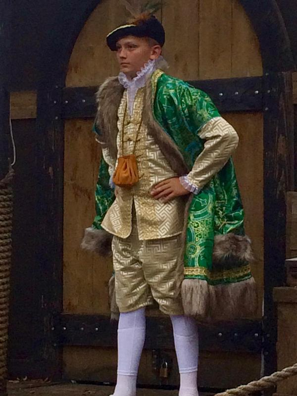 Eli Hammons costume from Texas Ren Fest