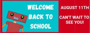 We are looking forward to seeing you on August 11, 2021, this will be the first day of classes.  Estamos ansiosos por verlos el 11 de agosto de 2021, este dia sera el primer dia de clases.