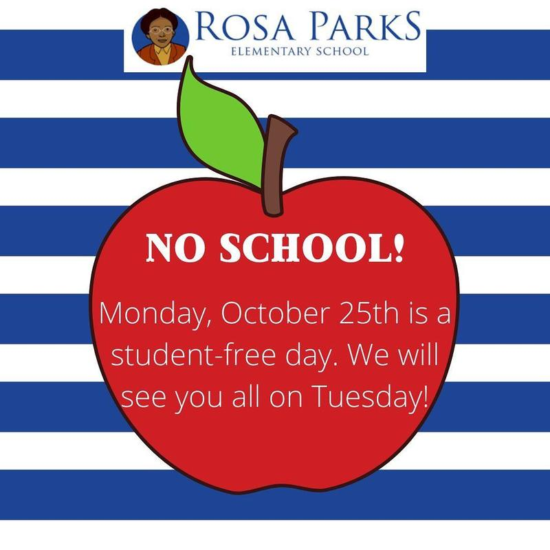 Student Free Day Monday October 25 Featured Photo