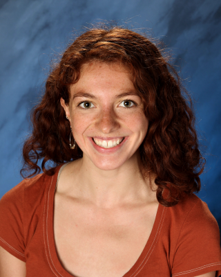 school photo of girl with red hair