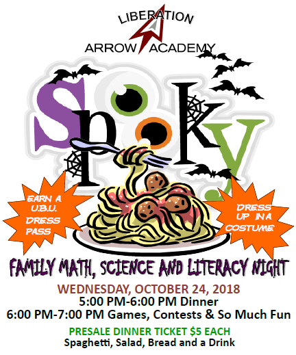 Spooky Spaghetti- Family Math, Science and Literacy Night Featured Photo