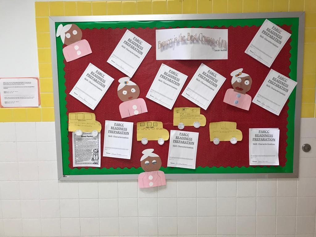 parcc readiness writing activity display