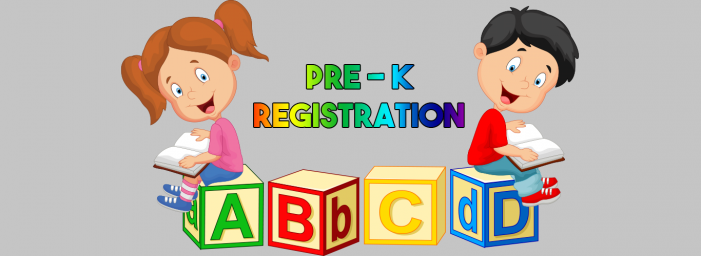 2019-20 Pre-Kindergarten Registration Thumbnail Image