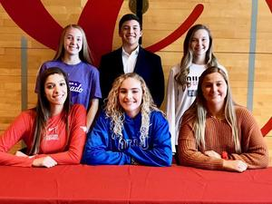 CHS Athletes Signing Day Nov. 2019