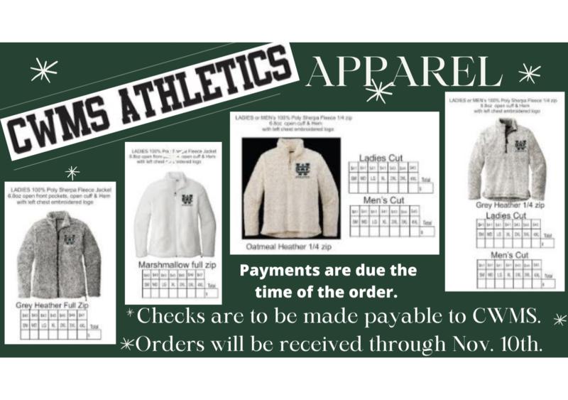 CWMS Athletics Sherpa Pullovers & Jackets Thumbnail Image